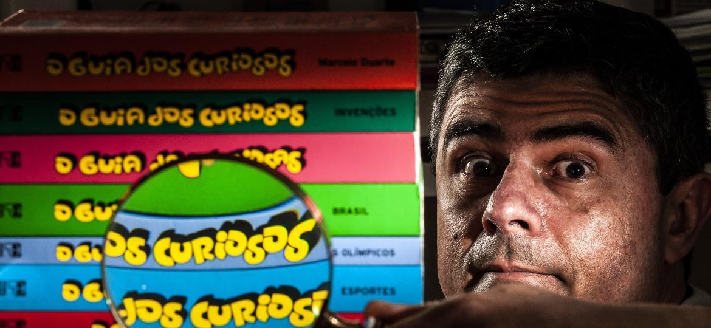 """O escritor Marcelo Duarte, autor de """"O Guia dos Curiosos"""" - Fernando Moraes/UOL"""