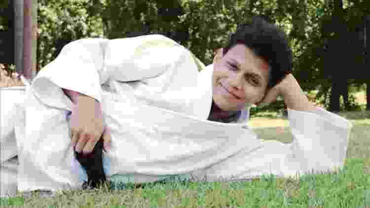 A judoca Edinanci Silva teve de fazer teste de feminilidade durante a Olimpíada de 1996, em Atlanta (EUA) - Ormuzd Alves/Folha Imagem
