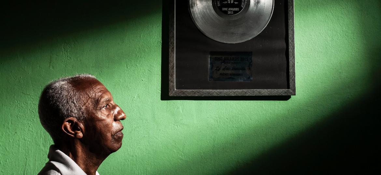 Seu Osvaldo, considerado o primeiro DJ do Brasil  - Fernando Moraes/ UOL