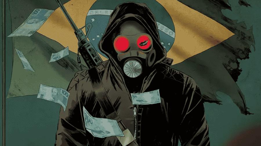 """A HQ """"O Doutrinador"""", criação de Luciano Cunha, foi adaptada para uma série de TV e para o cinema em 2018 - Divulgação"""