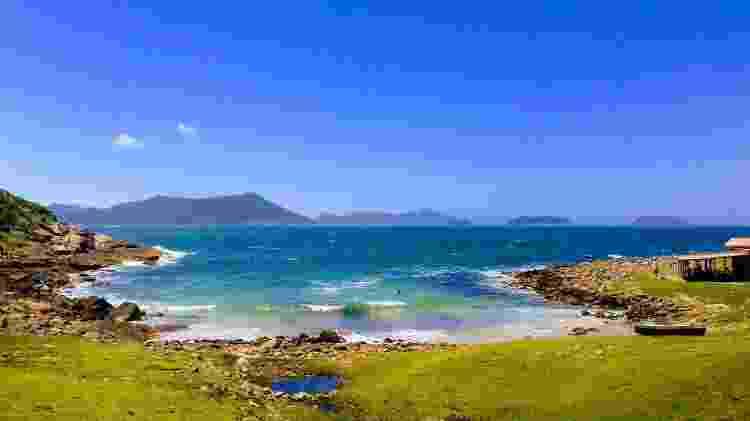 Praia do Maço, em Santa Catarina - Leonardo Carvalho/Arquivo Pessoal - Leonardo Carvalho/Arquivo Pessoal