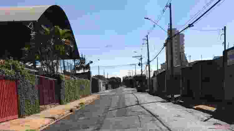 Araraquara na primeira tarde após lockdown total - Matheus Pichonelli/UOL - Matheus Pichonelli/UOL