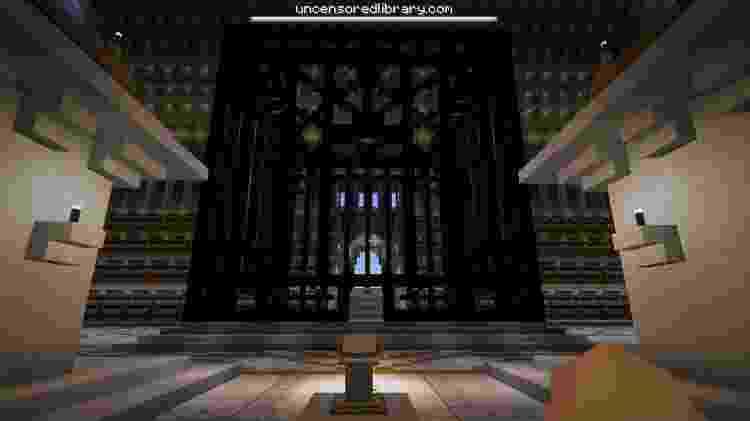 Jaula Arábia Saudita no Minecraft - Reprodução/ Minecraft - Reprodução/ Minecraft