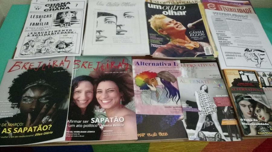 Arquivo Lésbico Brasileiro pretende reunir revistas, periódicos, panfletos e outros registros - Arquivo pessoal