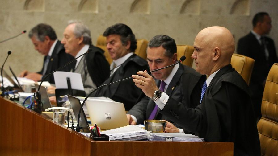 Ministros do STF - Fátima Meira/Folha
