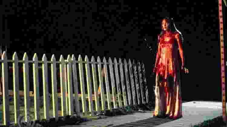 """A atriz Sissy Spacek em """"Carrie, a Estranha"""" (1976) - Reprodução"""