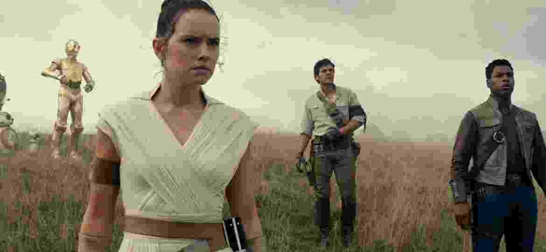 Cena de Star Wars: A Ascensão de Skywalker - Divulgação