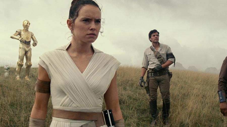 """Cena de """"Star Wars: Ascensão de Skywalker"""" - Divulgação"""