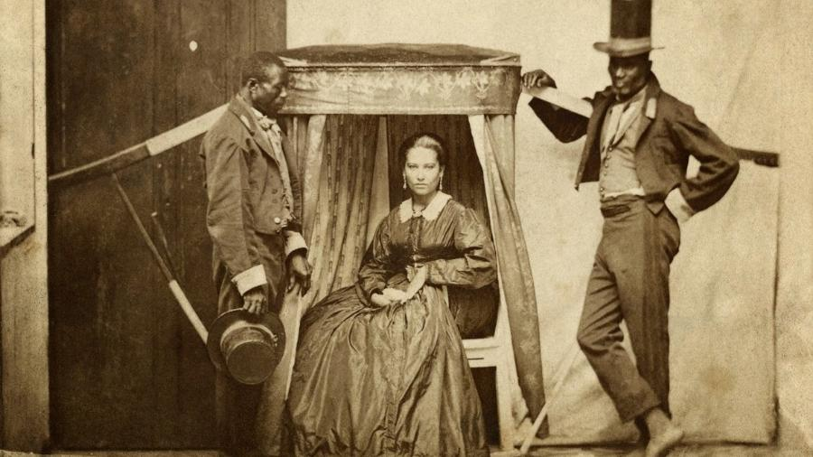 Cadeira de arruar, 1860 - Acervo Instituto Moreira Salles