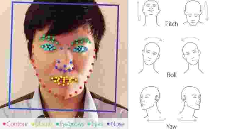 Ilustração gráfica do resultado produzido pela inteligência artificial no estudo - Divulgação