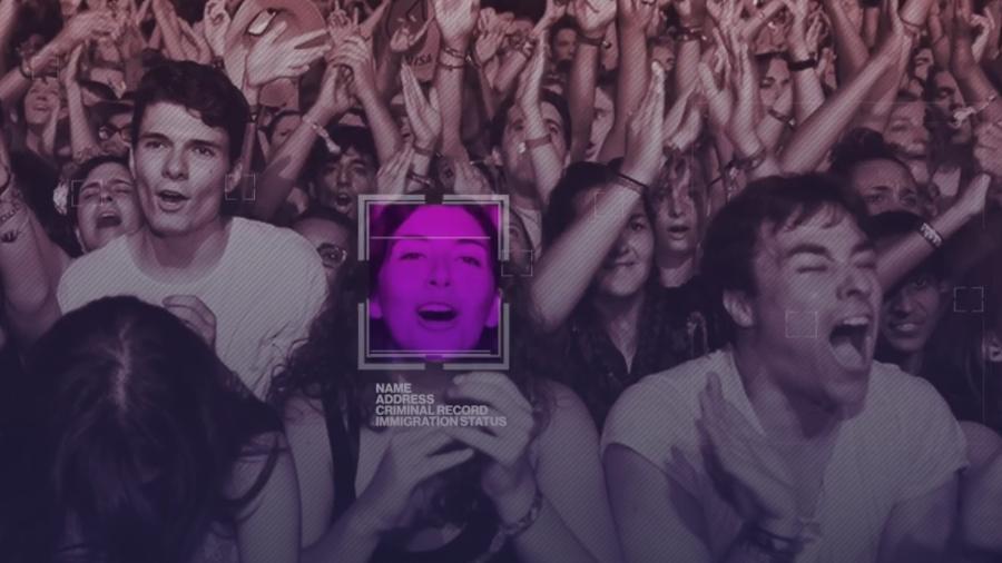 Ticketmaster usará tecnologia de reconhecimento facial em shows - Reprodução/Fight for the Future