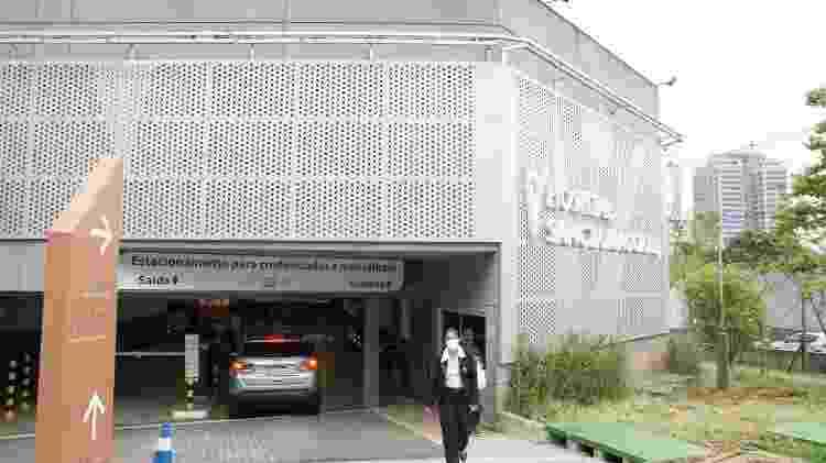 Fachada do prédio do Hospital Sancta Maggiore Dubai, em São Paulo, que pertence à rede da Prevent Senior - Andre Ribeiro/Futura Press/Folha - Andre Ribeiro/Futura Press/Folha