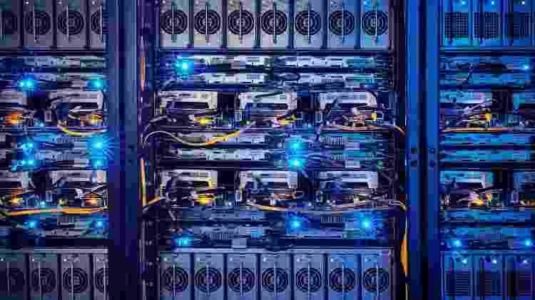 Servidores do centro de dados do Facebook em Luleå, na Suécia - Divulgação - Divulgação