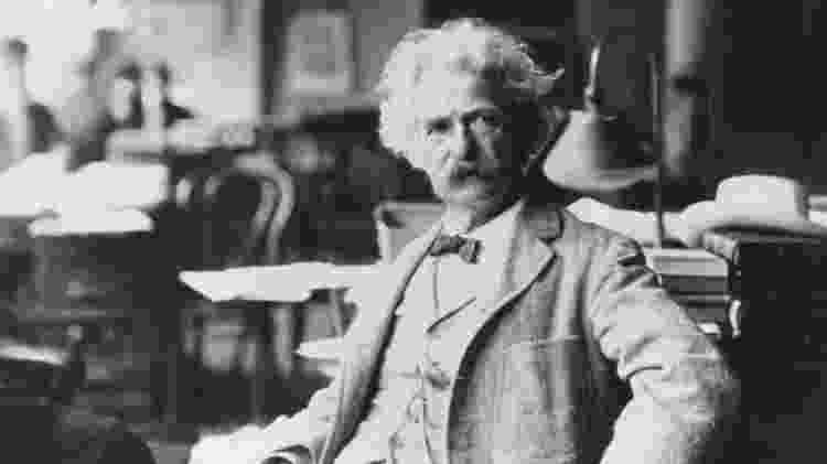 O escritor Mark Twain - Samuel Clemens/ Getty Images - Samuel Clemens/ Getty Images