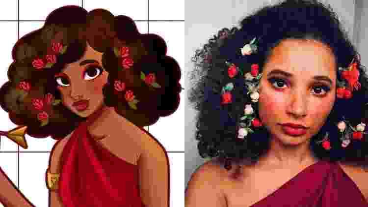 Mini Gui, personagem criada pela ilustradora Giulia Garcia, inspirada nela própria - Arquivo pessoal