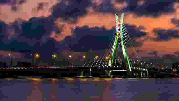 Ponte Iekki Ikoyi, em Lagos, na Nigéria - Wissam Achkouty/Getty Images - Wissam Achkouty/Getty Images