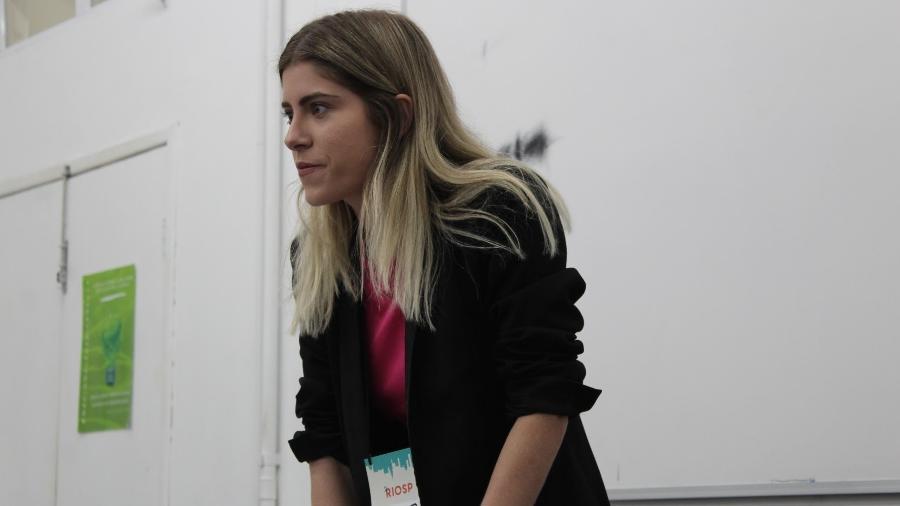 A goiana Jéssika Peixoto, 25, presidente do USP Debate - Divulgação
