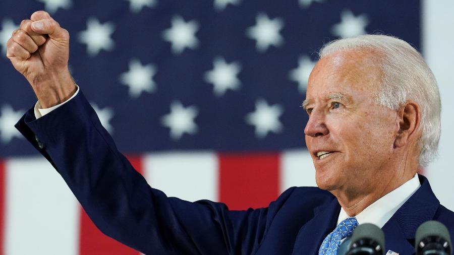 O presidenciável democrata Joe Biden foi uma das vítimas do ataque dos hackers  - Kevin Lamarque/Reuters