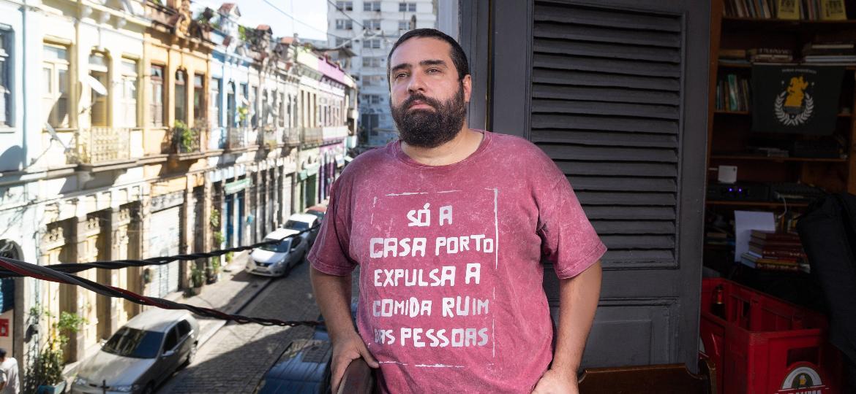 Raphael Vidal, dono da Casa Porto, no Rio - Zô Guimarães/UOL