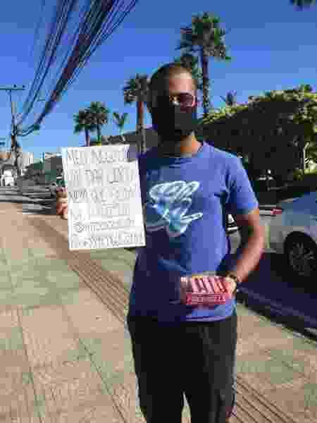 O vendedor Marvin Pereira Farias, 22 - Arquivo pessoal - Arquivo pessoal