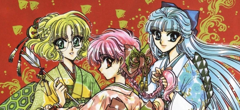 """Anime """"Guerreiras Mágicas de Rayearth"""" - Reprodução"""