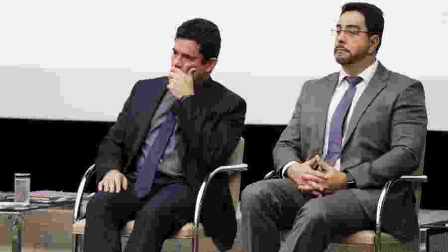 Juízes Bretas e Moro - Folhapress