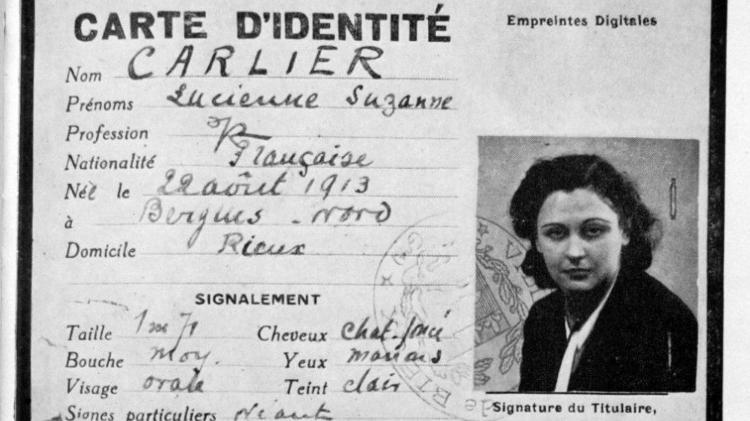 Identidade falsa de Nancy - Divulgação - Divulgação