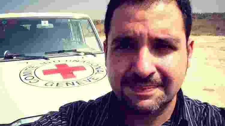 Márcio Gagliatto, do grupo de referência em Saúde Mental e Apoio Psicossocial em Emergências Humanitárias da ONU - Arquivo Pessoal - Arquivo Pessoal