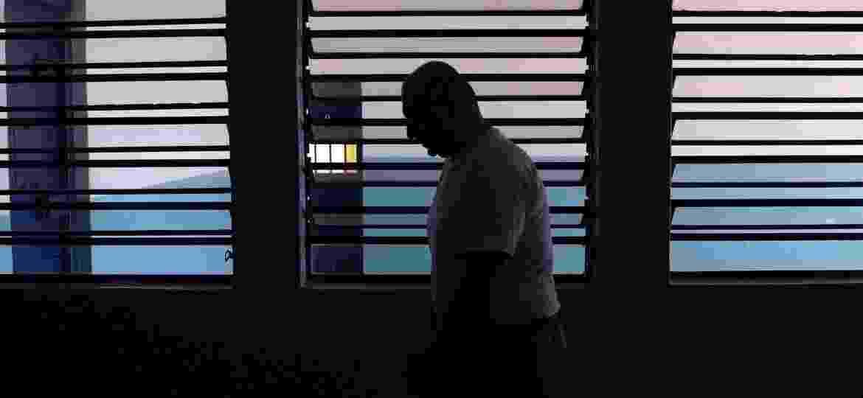 03.mai.2018 - Preso estrangeiro na penitenciária de Itaí (SP) - Ugo Araujo/UOL