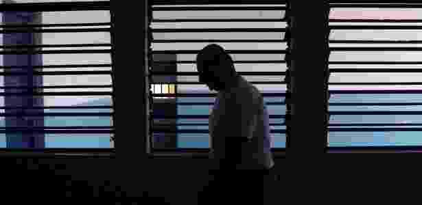Preso estrangeiro na penitenciária de Itaí (SP) - Ugo Araujo/UOL