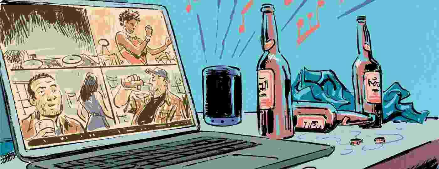 Festas virtuais, com ou sem sexo, se popularizaram durante a quarentena - Rodrigo Rosa
