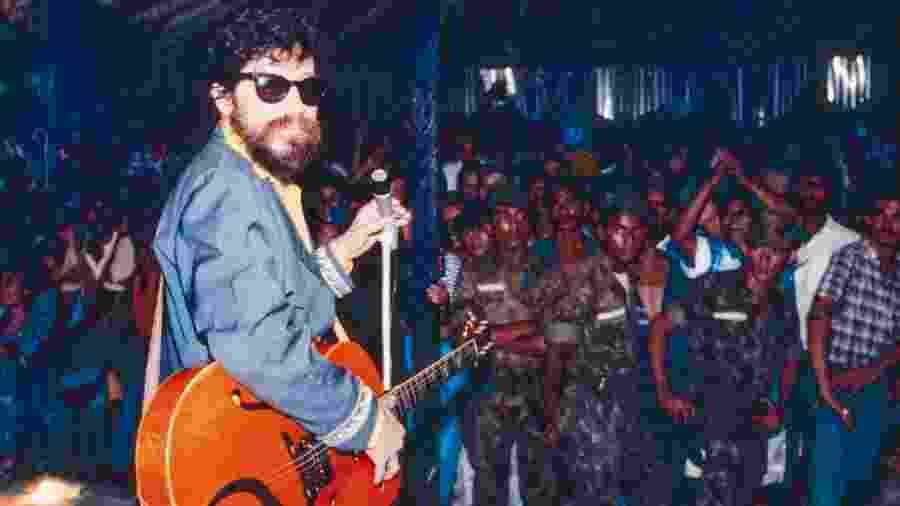 Último show da turnê de Raul Seixas em Itaituba, no Pará - Cris Villares/Divulgação