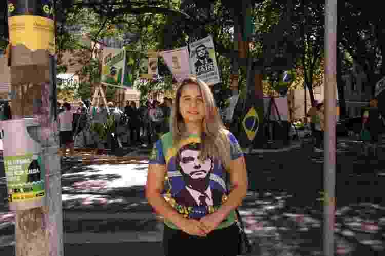 A estudante de ciência política Jeane Patrícia Gonçalves - Nina Rocha/UOL - Nina Rocha/UOL