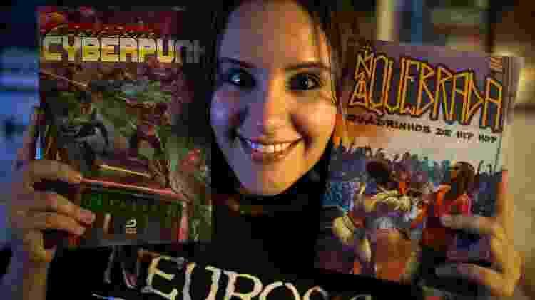 """Larissa Palmieri, 30, quadrinista e designer é uma das autoras de """"Periferia Cyberpunk"""" - André Lucas/UOL"""