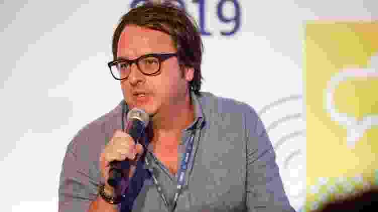 "Beto Gauss na palestra ""Qual é o futuro das séries no Brasil?"" - Marcelo Justo/UOL"