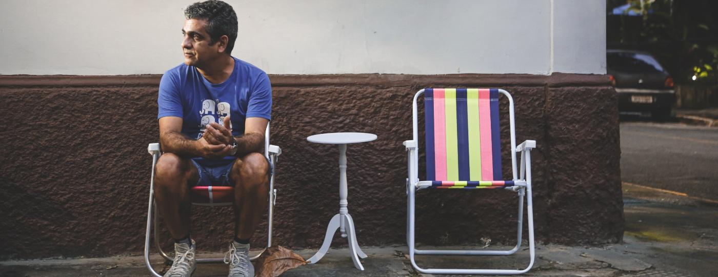 Depois de 20 anos morando em São Paulo, o diretor Hilton Lacerda voltou para o Recife - Brenda Alcântara/UOL