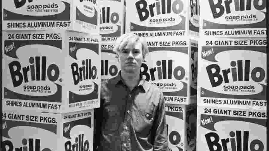 Andy Warhol fotografado por Fred McDarrah em 1964 - Fred McDarrah/Getty Images