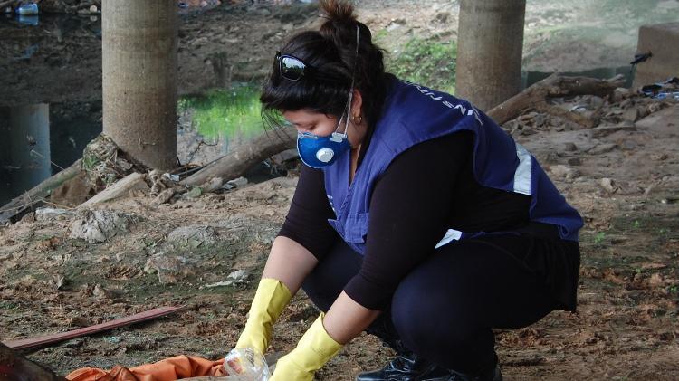 Mariana Pellizzari, perita criminal do Rio Grande do Sul, diz ser apaixonada pelo trabalho, apesar dos desafios - Arquivo Pessoal