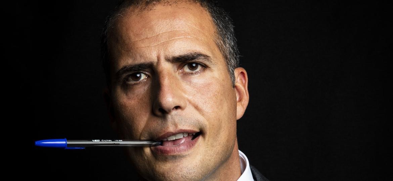 Ricardo Araújo Pereira, humorista e cronista português - Daryan Dornelles/UOL