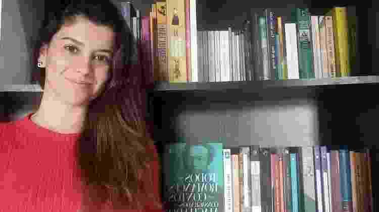 A pesquisadora Cristiane Garcia Teixeira - Arquivo pessoal - Arquivo pessoal