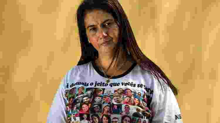 Natalia Oliveira ainda aguarda a localização e identificação dos restos mortais de sua irmã, Lecilda Oliveira, funcionária da Vale, em Brumadinho (MG) - Gustavo Baxter/UOL - Gustavo Baxter/UOL
