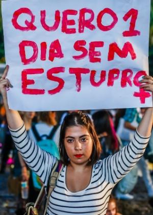 Manifestação na avenida paulista, em São Paulo