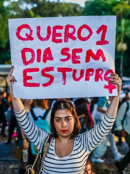 Em 2019, o Ministério da Saúde registrou 5.372 casos de estupros coletivos - Edson Lopes Jr./UOL