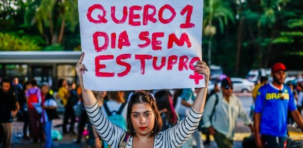No ano passado, foram notificados 45.460 estupros no país