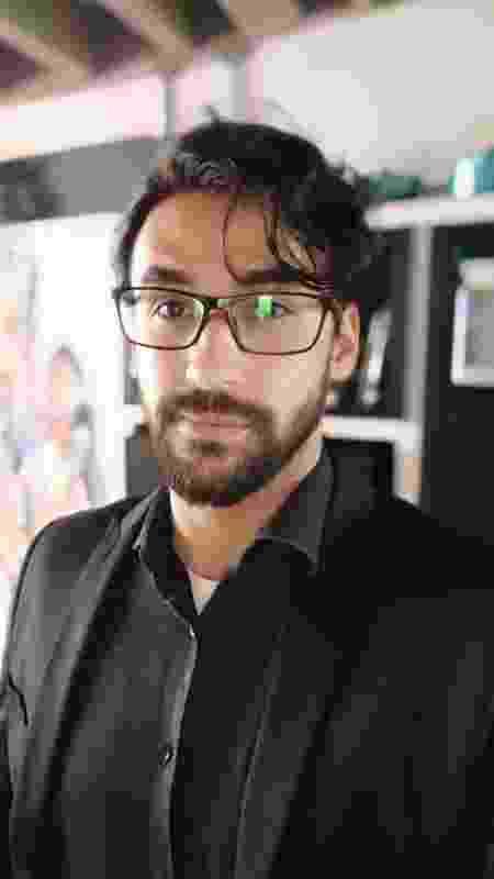 Leo Oliveira, ator, começou a fazer entregas por aplicativos por causa da pandemia - Arquivo Pessoal - Arquivo Pessoal