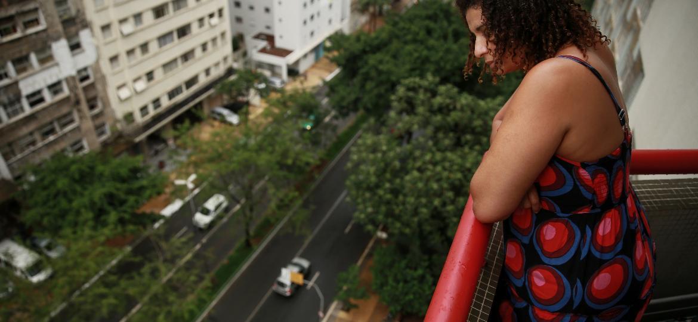 Simone Gonçalves, 54, moradora da Avenida 9 de Julho (São Paulo) - André Nery/UOL