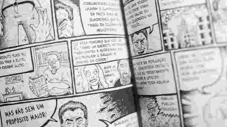 """Trecho do livro """"Comando de Caça ao Cuadrinista (C.C.C)"""" - André Lucas/UOL"""