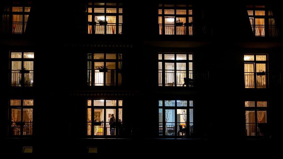 Janelas iluminadas - Getty Images