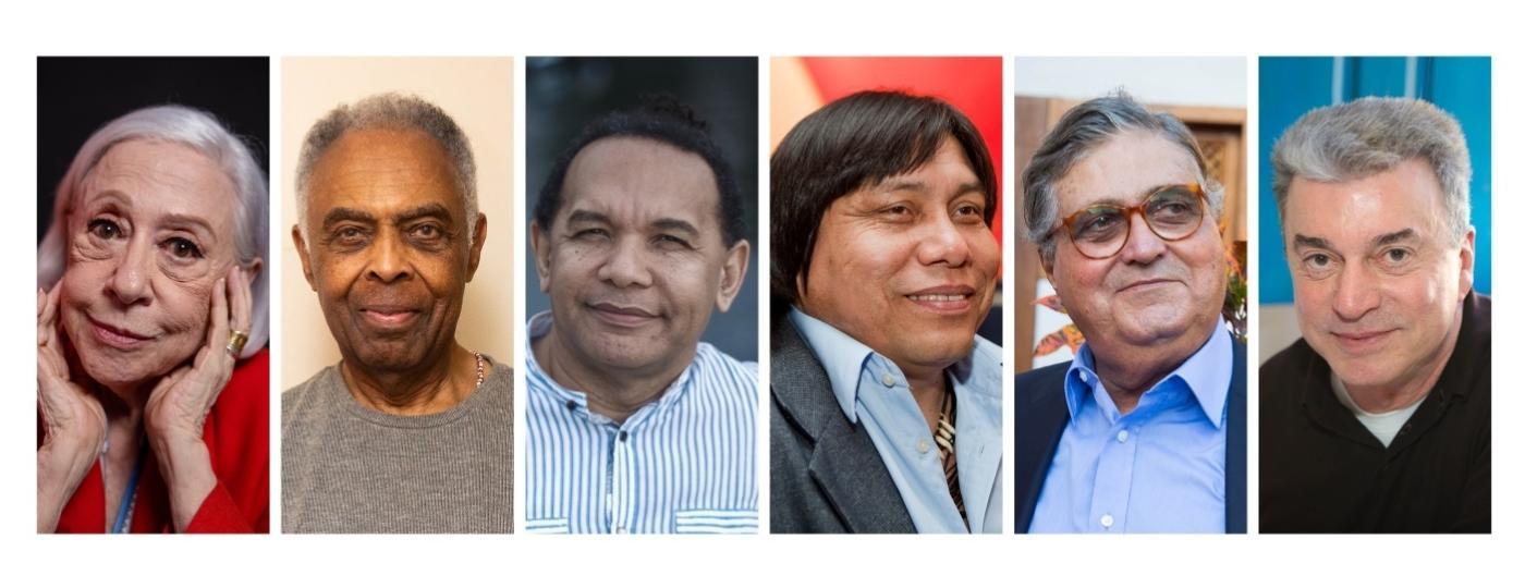 Candidatos já confirmados para as eleições de quatro vagas da ABL - Arte/ UOL