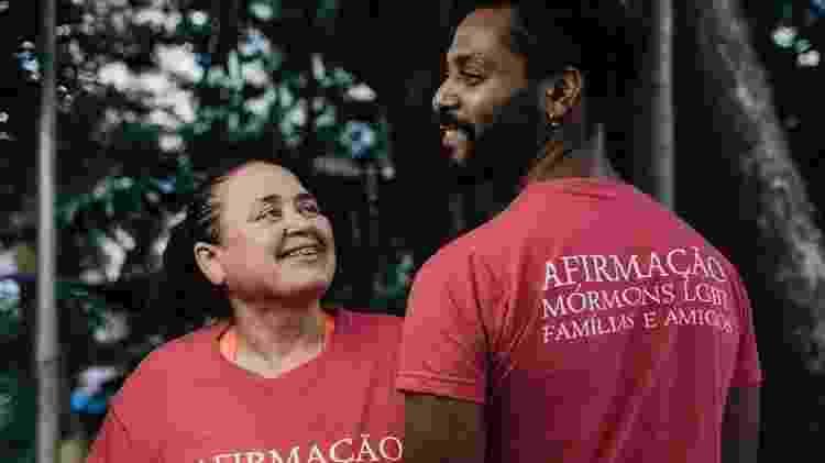 Alexsandro Barbosa e Cristina Moraes, da ONG Afirmação, que acolhe mórmons LGBT - Filipe Redondo/UOL - Filipe Redondo/UOL